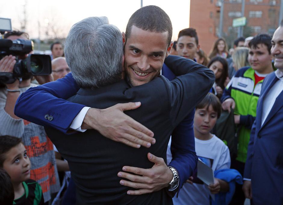 TEMPORADA 2013/14. Presentación campo 'Mario Suárez' / FOTO: Á.G