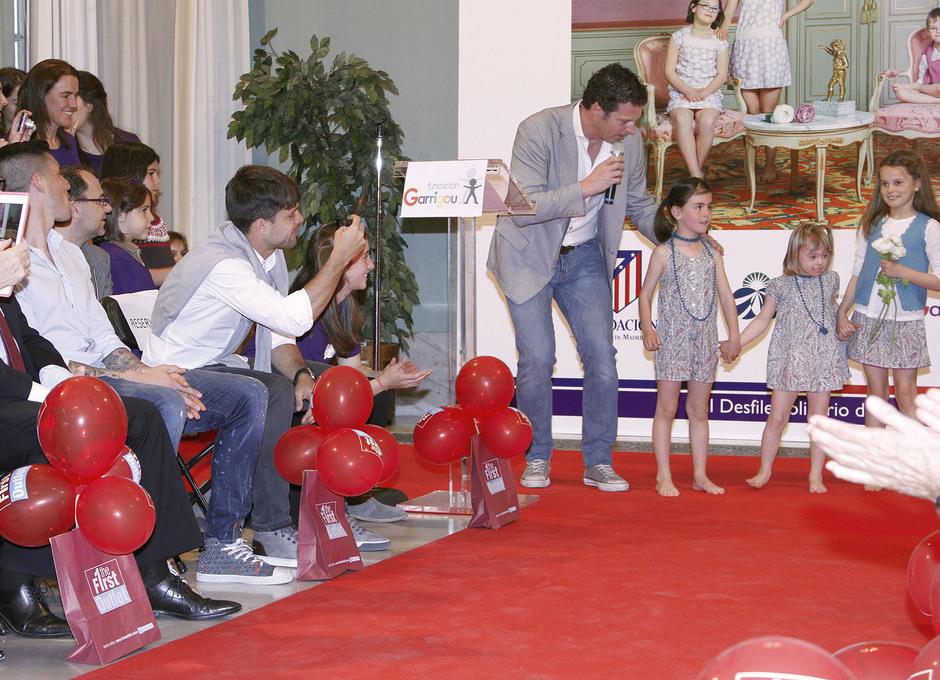 Diego y Sosa disfrutaron con la pasarela de esta Fundación en favor de los niños con síndrome de Down