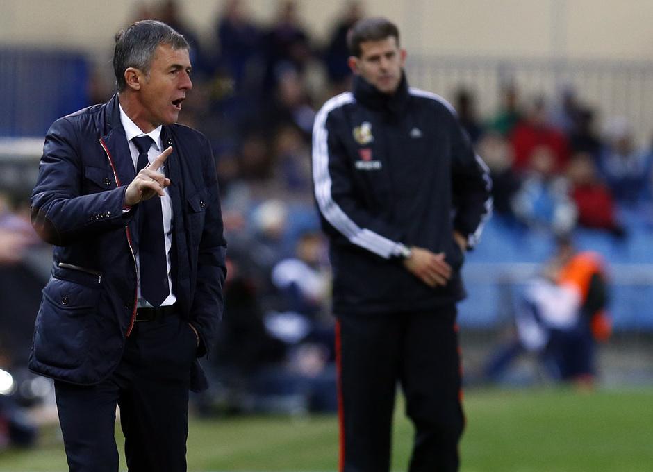 temporada 13/14. Partido Atlético de Madrid-Sevilla. Lucas Alcaraz