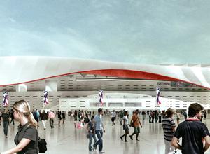 Nuevo Estadio - Vista Exterior