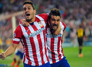 Temporada 13/14. Atlético de Madrid - F.C. Barcelona. Vuelta 1/4 Champions. A.G.