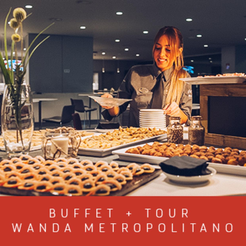 COMIDA POST PARTIDO + TOUR WANDA METROPOLITANO