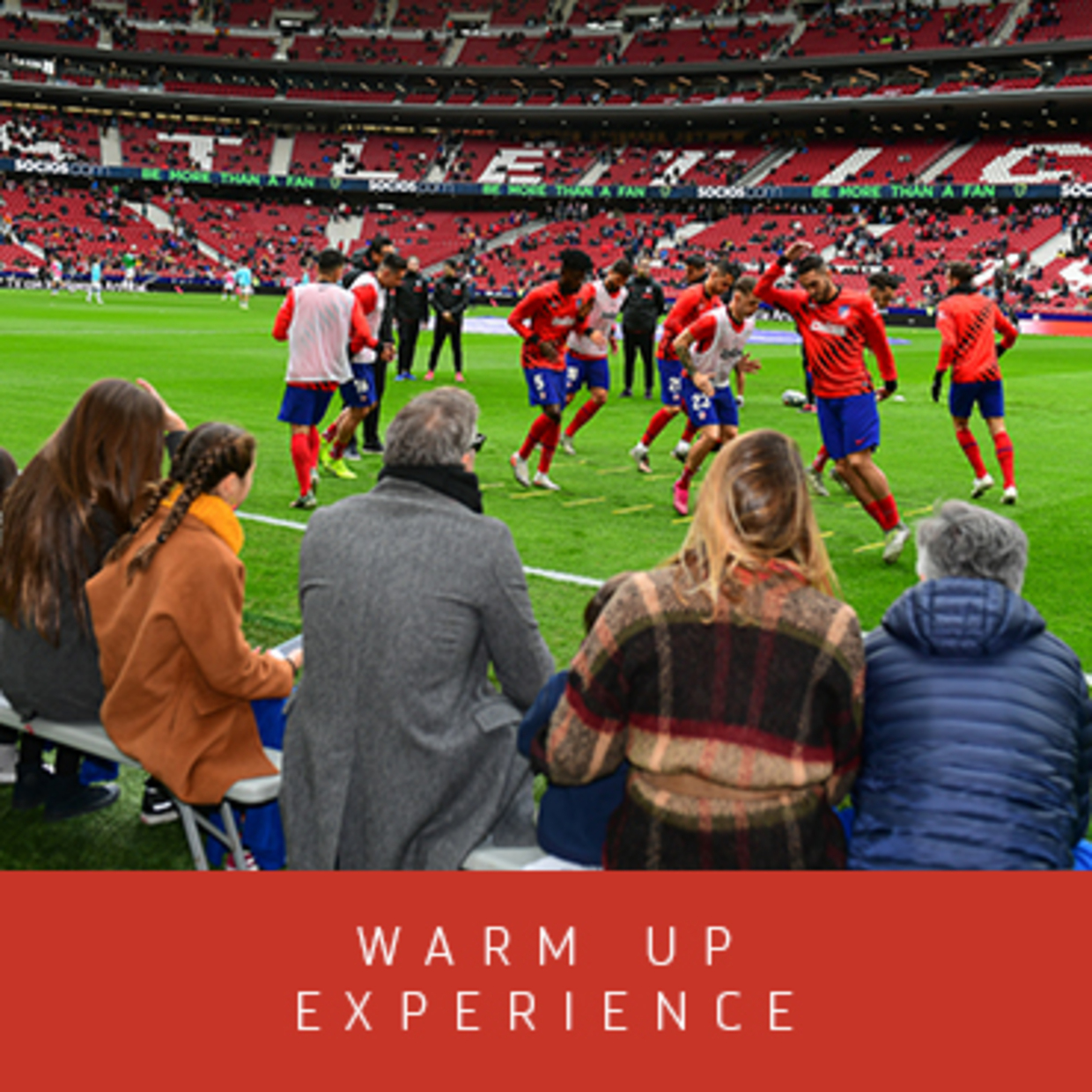 WARM UP EXPERIENCE