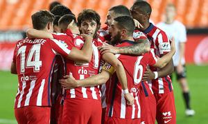 Las mejores jugadas del Valencia 0-1 Atlético de Madrid