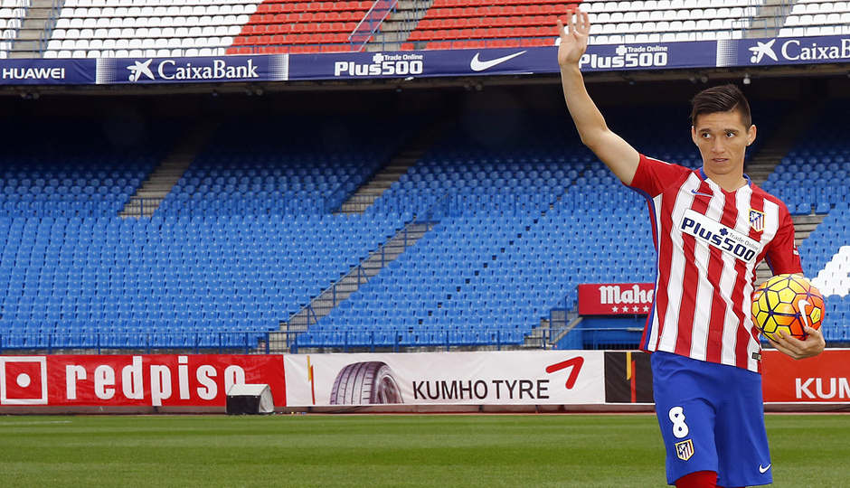 #WELCOMEKRANEVITTER | This is how he lived his first day as an Atlético