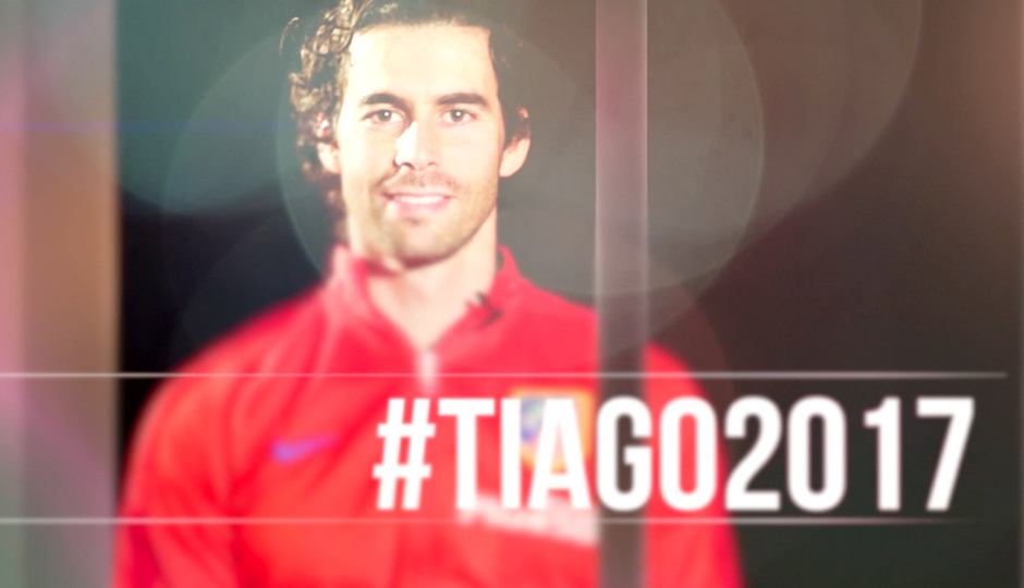 """Tiago: """"I'm very happy to keep belonging to the Atlético family"""""""