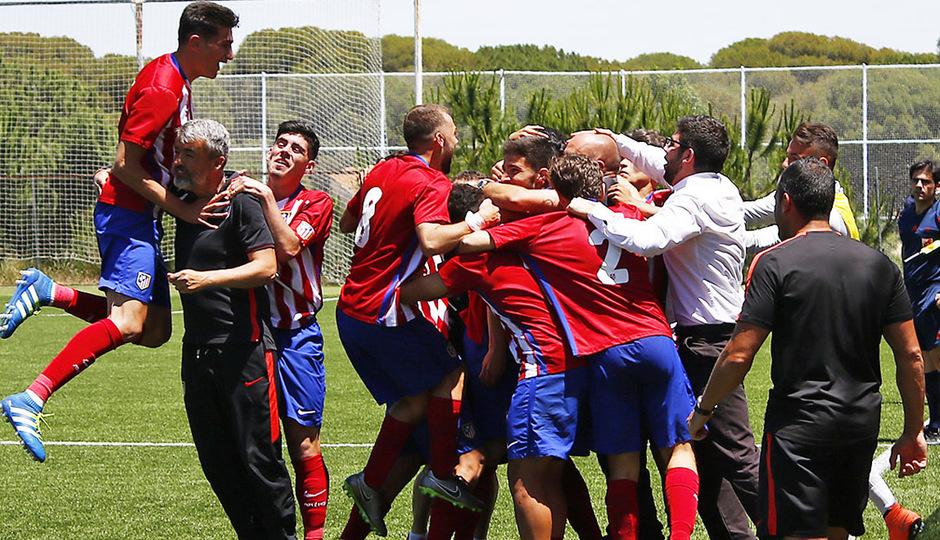 El Juvenil remonta y se mete en la final de Copa del Rey