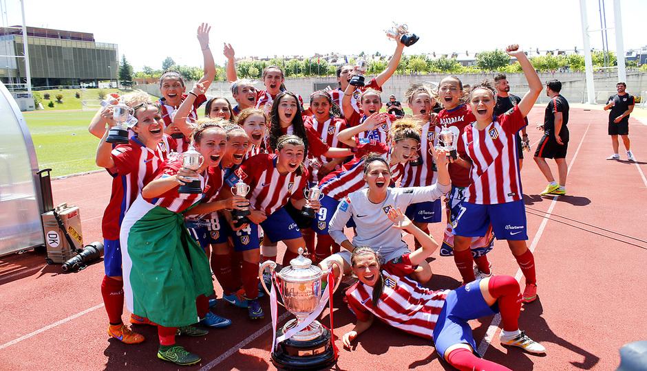 ¡Campeonas de la Copa de La Reina!