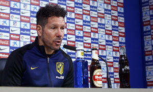 "ATM FLASH | Simeone: ""We'll have a tough, difficult and important rival"""