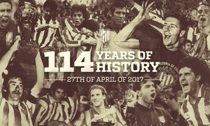 Today is our club's birthday! 114 years of unforgettable history