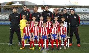 Atlético Madrileño Benjamín