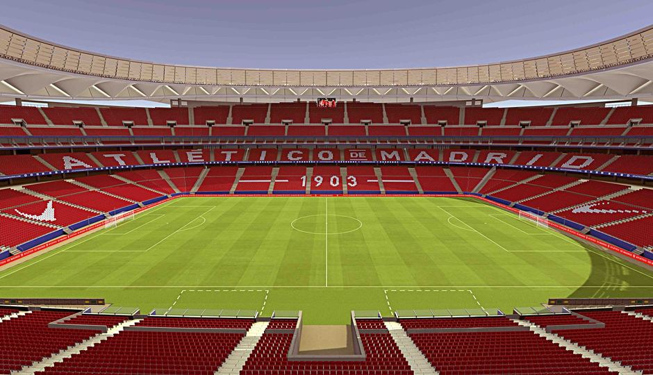 Wanda Metropolitano | This is how the stands will look like