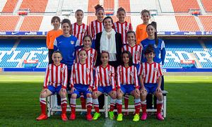 Atlético de Madrid Féminas Alevín B
