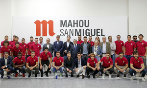 We visit our friends at Mahou