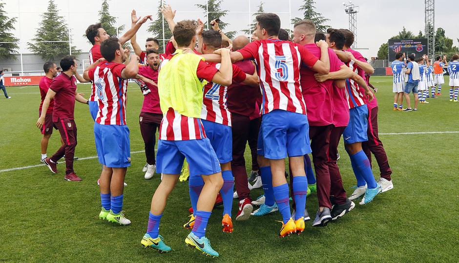 El Atlético de Madrid consiguió el ascenso a Segunda B