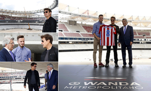 This was Tom Cruise's visit to the Wanda Metropolitano