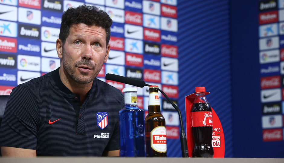 "ATM FLASH | Simeone: ""Las Palmas will demand our very best"""