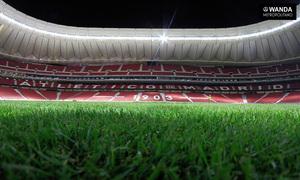 TIME LAPSE | ¡Colocado el césped en el Wanda Metropolitano!