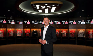 "Simeone: ""The club has grown immensely and has a great possibility of improval"""