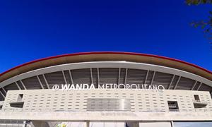 TIME LAPSE | Así se colocaron las letras de Wanda Metropolitano en la fachada oeste