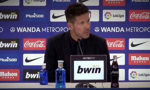 "ATM FLASH | Simeone: ""The atmosphere of the Wanda Metropolitano thrills me"""