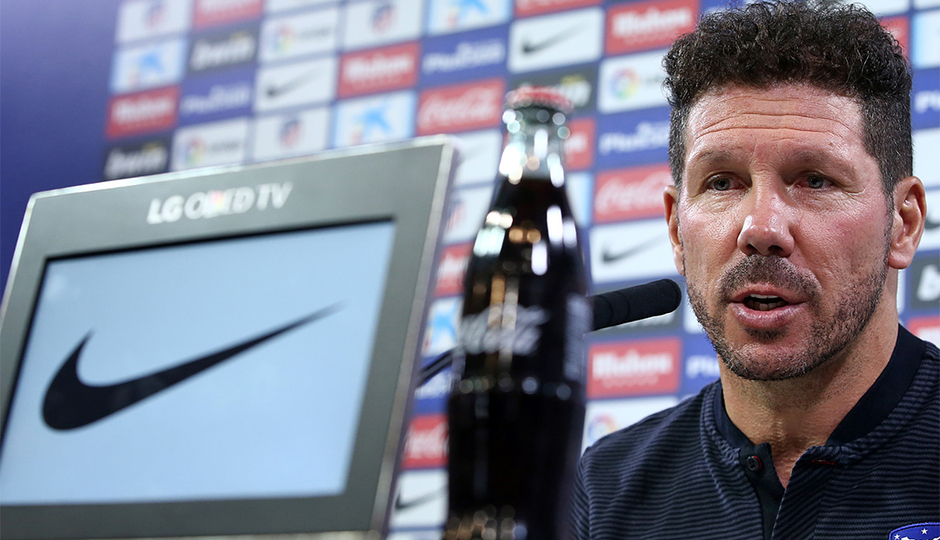"ATM FLASH | Simeone: ""You have to work hard when you play Leganés"""
