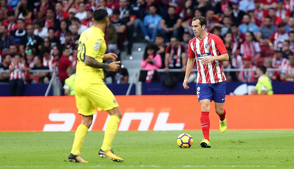 Godín, el jugador extranjero con más partidos oficiales en la historia del Atleti