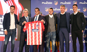 Plus500 will be Atlético's main sponsor until 2021