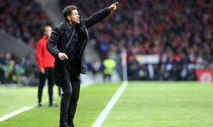 "Simeone: ""The first 30 minutes were very good"""