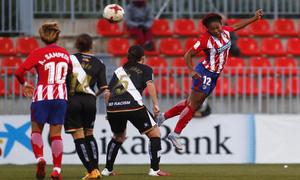 Liga Iberdrola   Atlético de Madrid Femenino 0-1 Rayo Vallecano
