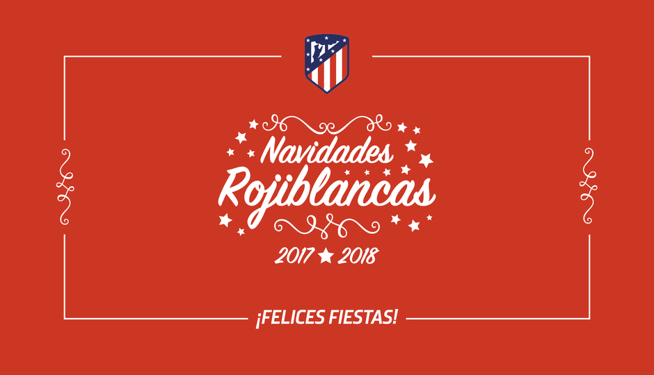 Merry Christmas, #AtléticosAroundTheWorld!