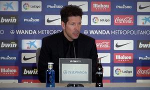 ATM FLASH    Simeone, Saúl y Juanfran analizan el choque ida de los cuartos de Copa