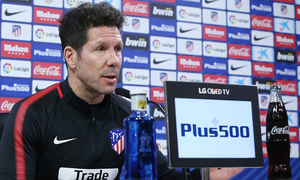 "Simeone: ""We always play with the same intensity and excitement"""
