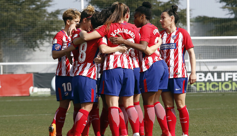 LIGA IBERDROLA   Atlético de Madrid 1-0 Valencia CF
