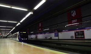 Al Wanda Metropolitano, en Metro