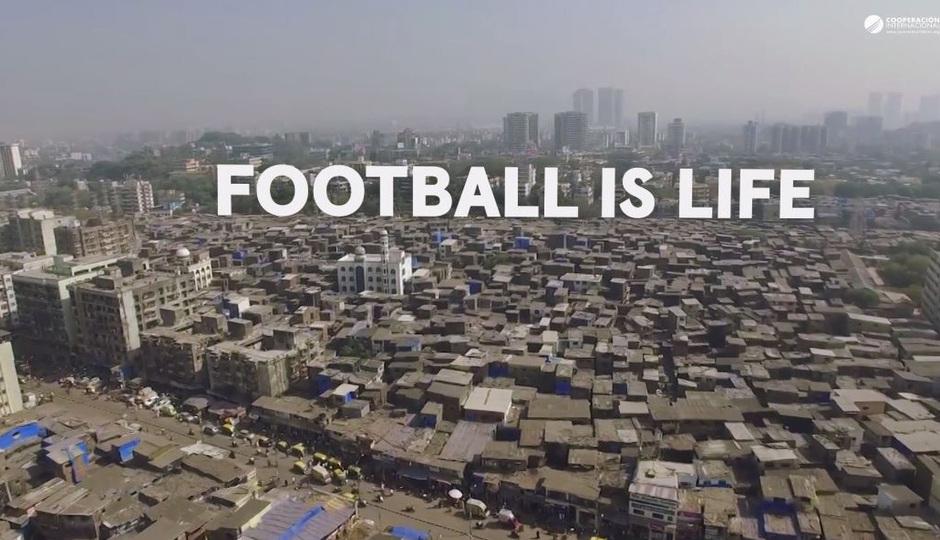 Nuestra Fundación colabora en el proyecto Football is life en India