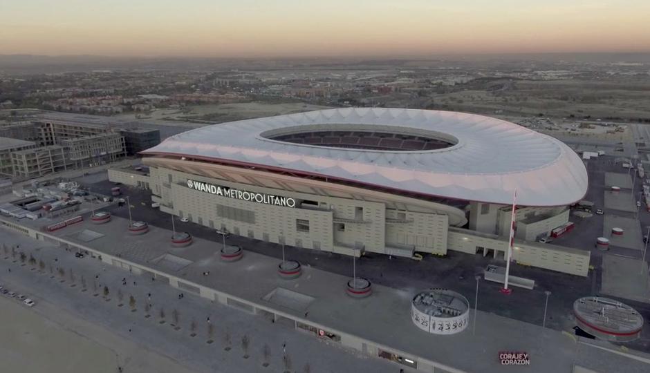 ¡Así es el Wanda Metropolitano!