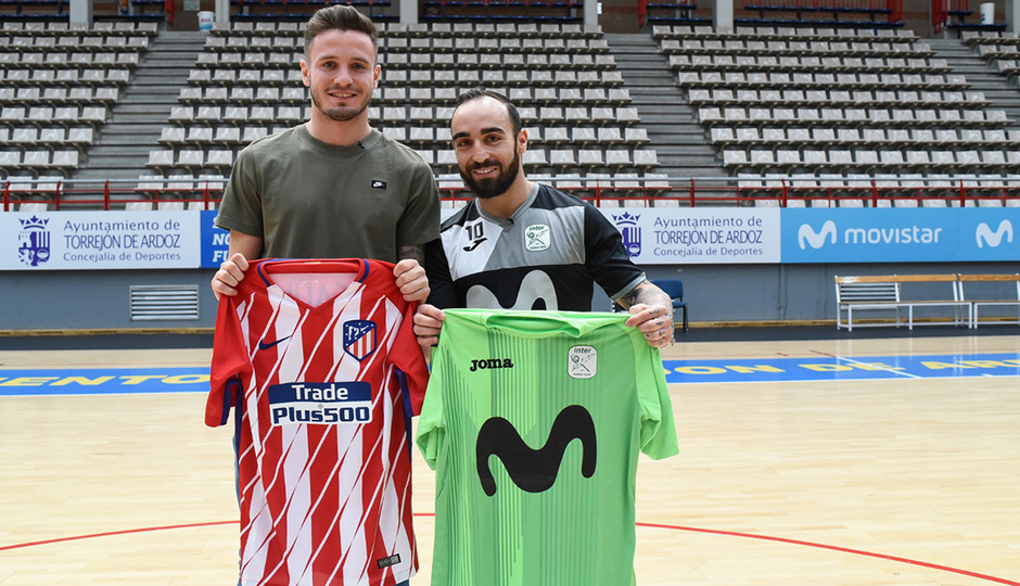 Saúl learned some tricks from the 'magician' Ricardinho to get ready for Atleti-Sporting CP