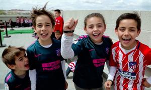 ¡Así disfrutó la familia rojiblanca del primer Día del Niño en el Wanda Metropolitano!