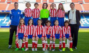 Atlético de Madrid Féminas Benjamín B