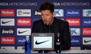 "Simeone: ""It was a very disputed match"""