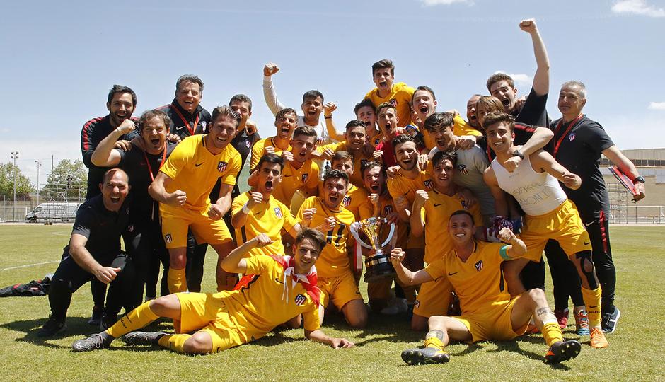 El Juvenil A, campeón de la Copa de Campeones
