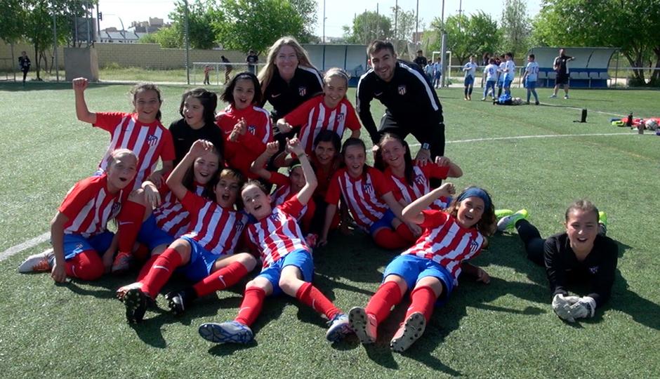El Femenino Alevín B logra su primer título de Liga