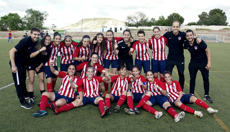 El Femenino Juvenil B, campeón de Liga