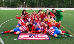 El Femenino Juvenil D se proclama campeón de Liga