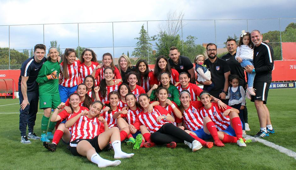 El Femenino C conquista el título de Liga