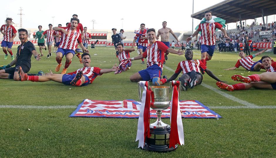 ¡El Juvenil A, campeón de la Copa del Rey!