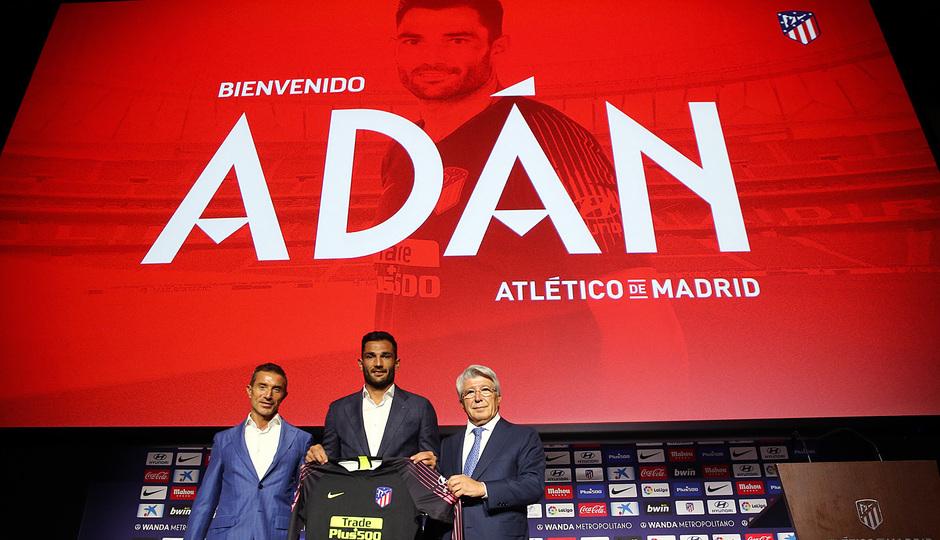 ¡Así vivimos la presentación de Antonio Adán en el auditorio del Wanda Metropolitano!
