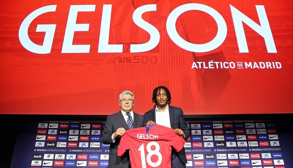 "Gelson: ""I promise to give it my all for this shirt"""