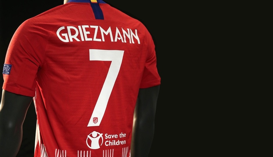 Atlético de Madrid collaborates with Save the Children
